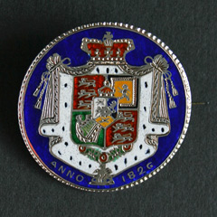 William IIII Enameled Halfcrown