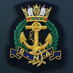 Royal Naval Association Blazer Badge : Products on the